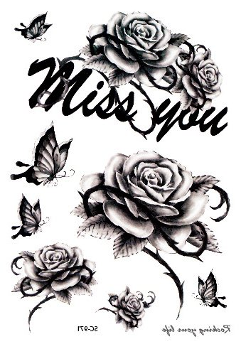 Miss you roses